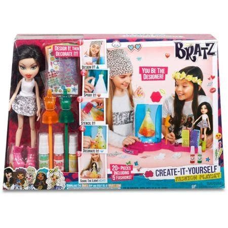 design a doll of yourself fashion dolls bratz create it yourself fashion playset