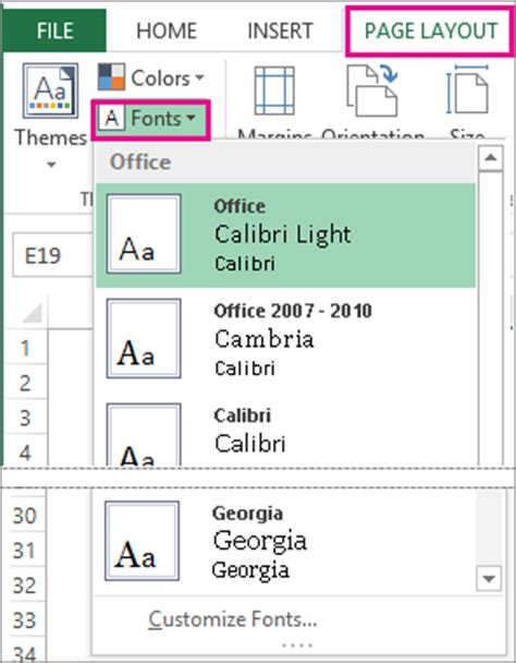 change page layout a3 word change a theme and make it the default in word or excel