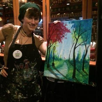 paint nite instructor paint nite event planning cincinnati oh yelp
