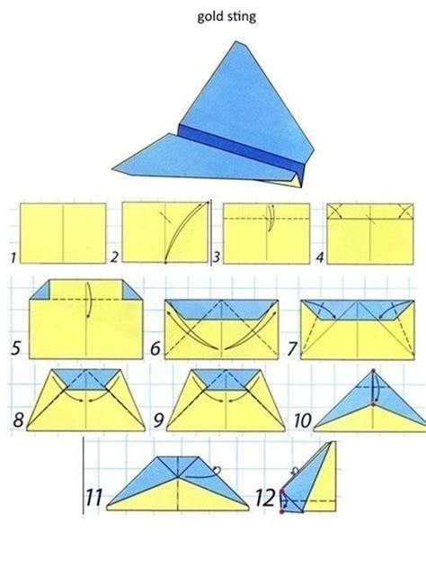 Make Paper Aeroplanes - models of paper airplanes selection diy is