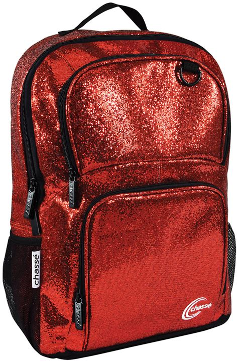 Go Sparkle Backpack Chass 233 174 Glitter Backpack Omni Cheer