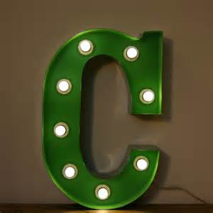 Wall Hooks For Kids Room by Vintage Marquee Circus Light Up Letter C Small The