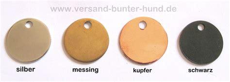 Messing Farbe 3883 by Hundemarke Graviert Versand Bunter Hund