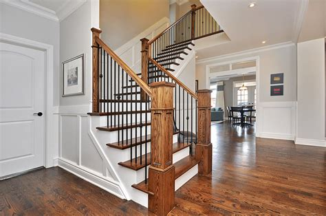 Stairway Banister Ideas stair and railing ideas doyle homes