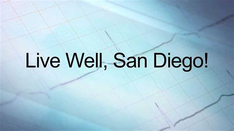 Live Comfortably by Live Well Minute Disease San Diego County