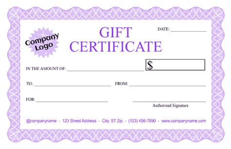 design certificate using corel draw formal gift certificate templates