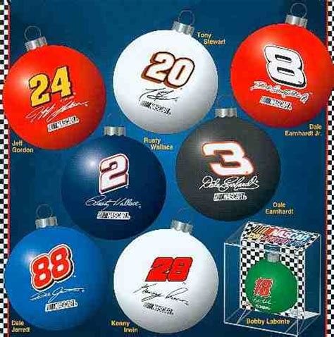 nascar drivers christmas ornaments