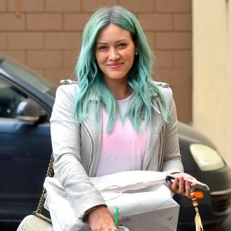 Hilary Duff Thinks She Has by Hilary Duff Hilary Duff S Tattoos Make A Gangster