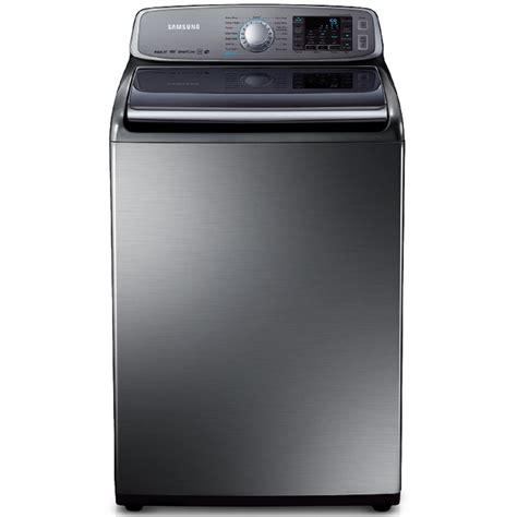 samsung washer shop samsung 5 0 cu ft high efficiency top load washer platinum at lowes