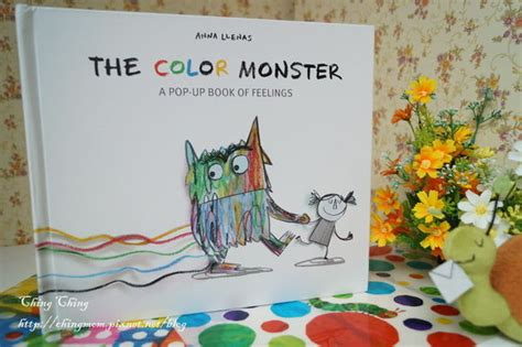 the color monster a pop up book of feelings anna llenas 9781454917298 amazon com books 中英文繪本 彩色怪獸 the color monster a pop up book of feelings 晴晴的成長 育兒日記 痞客邦