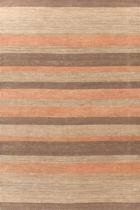brown stripe rug brown striped jute rugs dash albert desert stripe