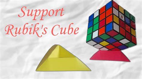 origami rubik cube origami support pour rubik s cube facile et rapide