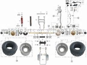4 best images of panther 110 atv wiring diagram x 360 electric scooter parts our tao tao 110