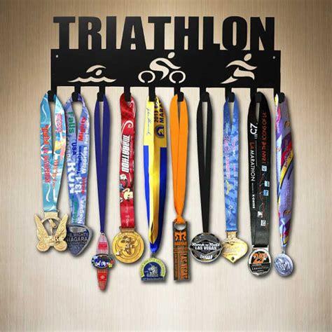 Triathlon Medal Rack by Triathlon Medal Hanger Medal Holder Medal Hooks Medal