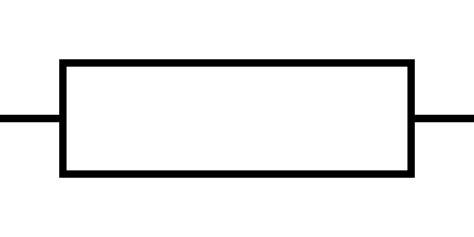 resistor schematic symbol resistor symbol in a circuit 28 images file resistor symbol america svg wikimedia commons