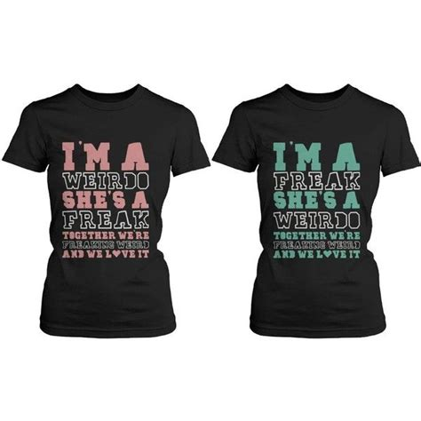 Where Can You Get Matching Shirts Best Friend T Shirts Freak And Weirdo
