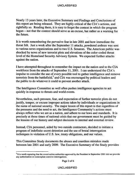 Intelligence Report Writing Template Senate Select Committee On Intelligence Study Of The Cia