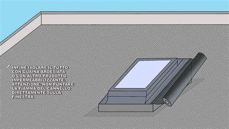 coibentazione terrazzo calpestabile installazione finestra per tetto piano come montare