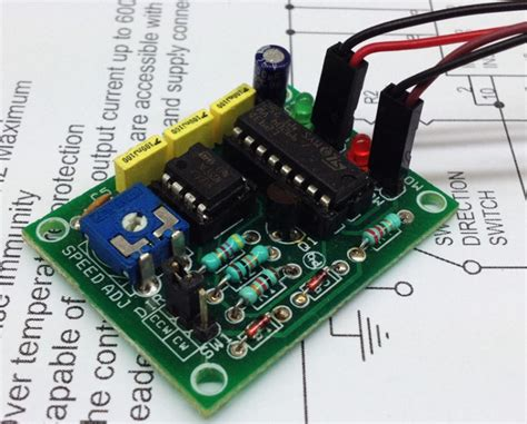 pc based dc motor speed dc motor speed and direction controller electronics lab