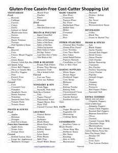Gluten Free Pantry List by The Gallery For Gt Walmart Grocery Shopping List