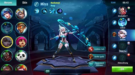 mobile legends characters mobile legends apk version free