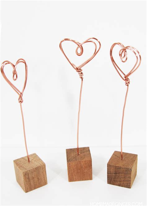 wire craft projects s crafts copper wire photo holders