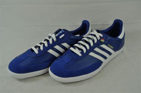 adidas italy adidas samba italy soccer g19467 cool blue white strips