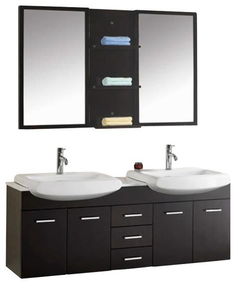 59 Sink Bathroom Vanity by 59 Inch Modern Sink Bathroom Vanity Modern