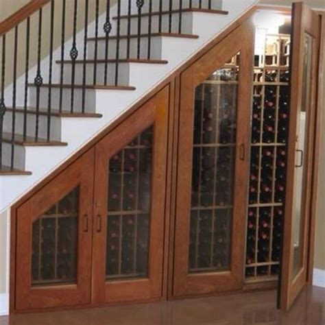 under stairs wine rack wine rack under staircase ideas for the house pinterest