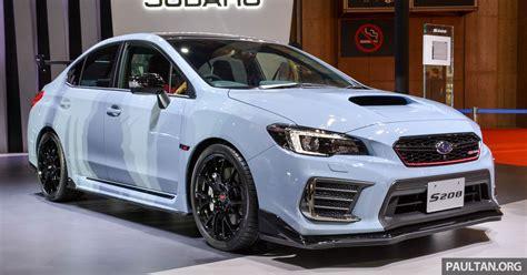 Tokyo 2017 Subaru Wrx Sti S208 329 Ps 432 Nm Paul Tan