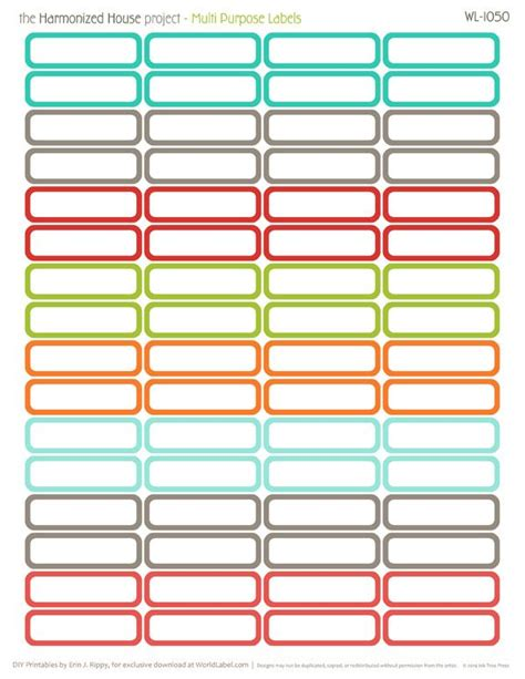 printable planner labels pin by nooni alsaleh on planner pinterest project life