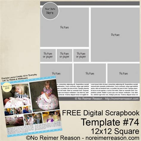 no reimer reason my blog about digital scrapbooking and