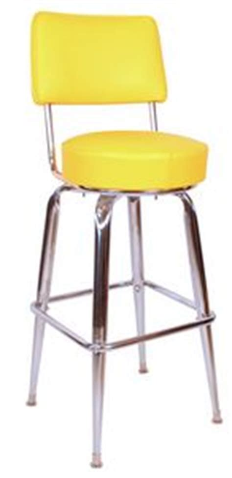 yellow bar stool with back chrome yellow bar stool