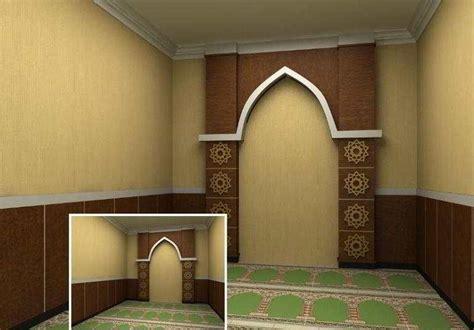 gambar desain mushola di dalam rumah ツ 8 desain mushola dan ruang sholat minimalis dalam rumah