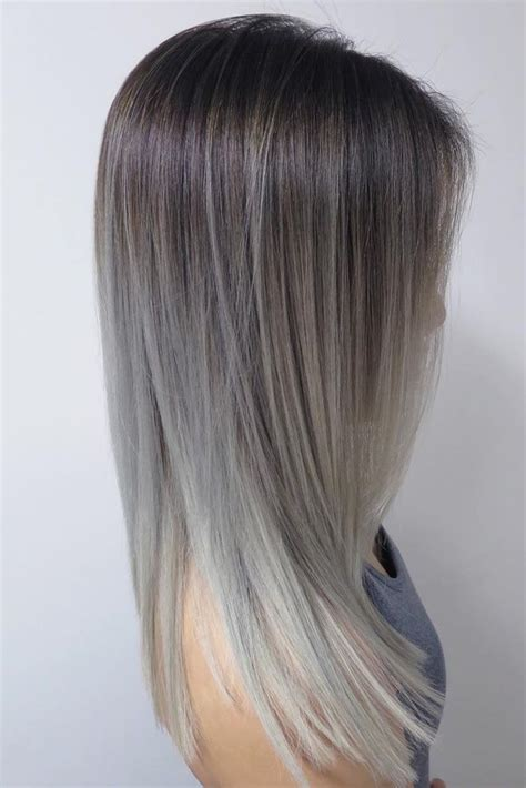 hair color by state best 25 grey ombre hair ideas on pinterest black and
