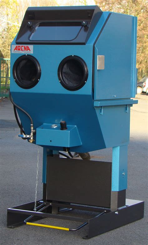 Water Blasting Cabinet by Abrasive Blasting