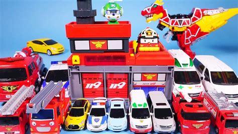New 1pc Robocar Poli station robocar poli ambulance car toys power key