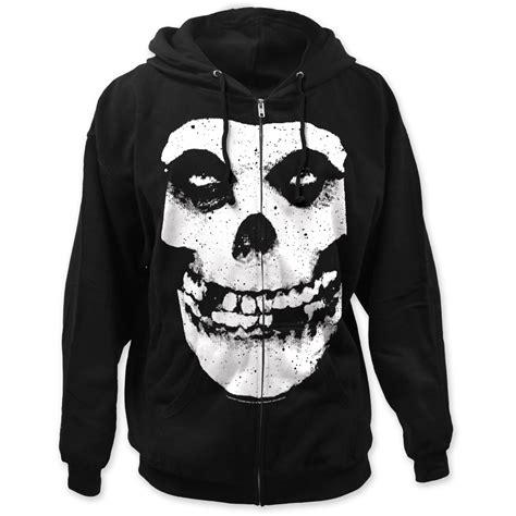 Zipper Hoodie Misfits misfits fiend skull zip up hoodie