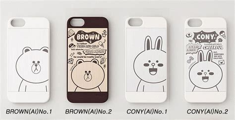 details about line friends brown cony characters cover for apple iphone 5 5s se
