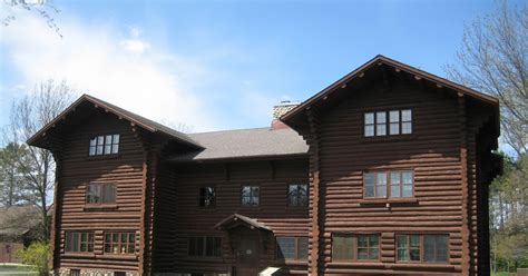 Schroeder Log Home Supply by Schroeder Log Iconic Logs Chippewa National Forest Hq