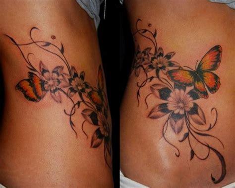 fiori e farfalle tatuaggi tatuaggi fiori e farfalle il significato e le foto pi 249