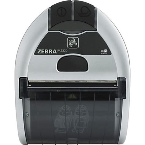 Zebra Imz320 Direct Thermal Printer Monochrome Portable Receipt Print By Office Depot Officemax Thermal Printer Receipt Template
