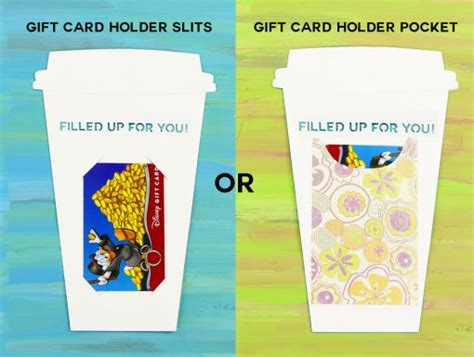 Coffee Cup Gift Card Holder - take out coffee cup gift card holder jennifer maker