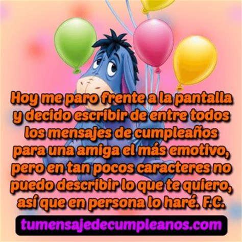 imagenes de mensajes de cumpleaños para una amiga frases y mensajes de feliz cumplea 241 os para una amiga especial