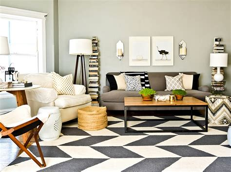 Chevron Rug Living Room by Chevron Pattern Ideas For Living Rooms Rugs Drapes And