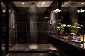 chic all black bathrooms for inspiration decorating room
