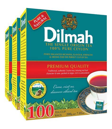 Dilmah Variety Of Tea dilmah ceylon gold collection 100 ceylon single origin tea 25 count tea