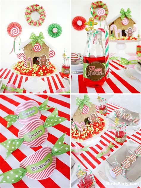free printable christmas party decorations free holiday printables round up