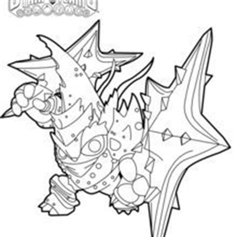 krypt king coloring pages lob star coloring page jym pinterest skylanders and