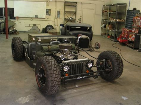 Slammed Willys Jeep 4x4 The O Jays